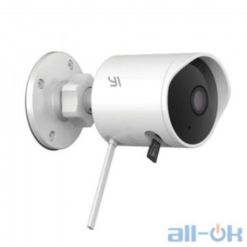 IP-камера наружная Xiaomi YI Outdoor Сamera 1080P White (YHS.3017/YI-86003)