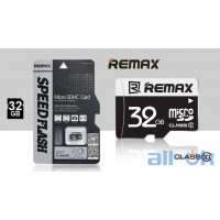 Карта памяти Remax MicroSDHC 32GB  Class 10