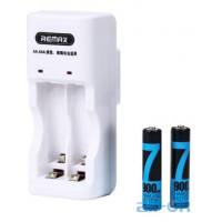 Remax OR Charger RT-DC02 + 2 Rechargeable Battery AAA R-3 900 mAh