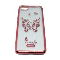 Чехол Beckberg Breathe seria для Xiaomi Redmi 6a Butterfly