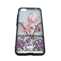 Чехол Rock Tatoo Art Case для Xiaomi Redmi 6a  Rose