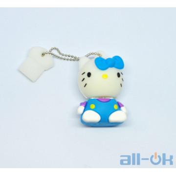 Флешка USB 16Gb Hello kitty Blue
