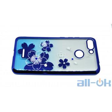 Чехол Beckberg Breathe seria для Xiaomi Redmi 6 Flowers
