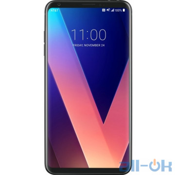 LG V30 Plus 128GB Black (H930DS.ACISBK)
