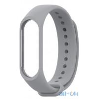 Ремешок Xiaomi Ремешок (Grey) для фитнес-трекера Mi Band 3/4