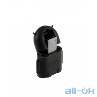 Micro USB Male to USB Female OTG Adaptor Android Black