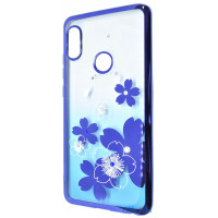 Чехол Beckberg Breathe seria для Xiaomi Redmi Note 7 Flowers