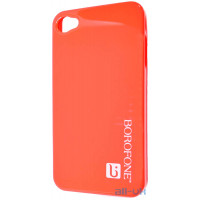 Чехол Borofone case red для iphone 4/4s