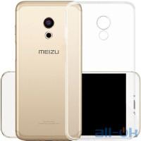 Силиконовый чехол для Meizu M6s прозрачный