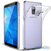 Силиконовый чехол для  Samsung J600 (J6-2018) прозрачный