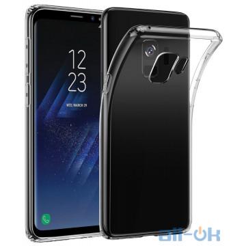 Силиконовый чехол для Samsung G960 (S9) прозрачный