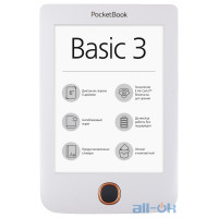 Pocketbook Basic 3 White (PB614-2-D-CIS)