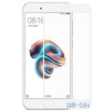 Защитное Стекло Xiaomi Redmi Note 5A 3D White