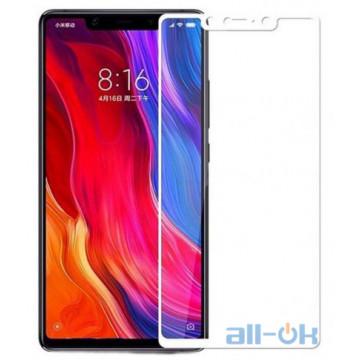 Защитное стекло Full Screen Xiaomi Mi 8 White
