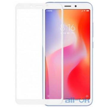 Защитное Стекло Xiaomi Redmi 6\6A 3D White