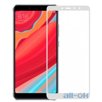 Защитное стекло Full Screen Xiaomi Redmi S2 White