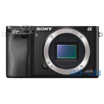 Беззеркальный фотоаппарат Sony Alpha A6000 body