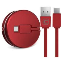 Кабель Cafele USB to Type C roulette portable Red