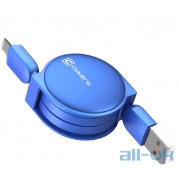 Кабель Cafele USB to Type C roulette Blue