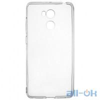 Накладка силиконовая для телефона Xiaomi Redmi Note 3 прозрачный черный