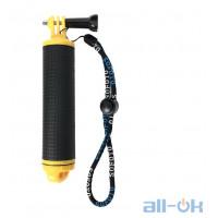Поплавок-рукоятка для экш-камер с водонепроницаемым отсеком