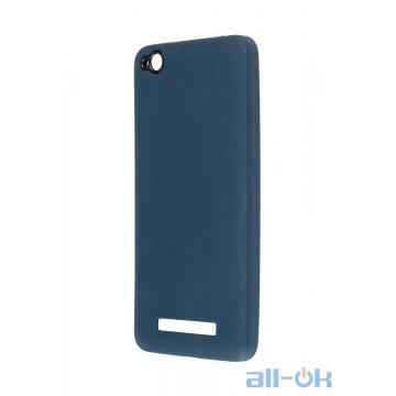 Чохол Matte Soft Case для Xiaomi Redmi 4A Blue