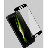 Защитное стекло для Samsung A720 2017 с рамкой Black