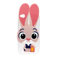 Силіконовий чохол Зверополіс Rabbit iPhone 5 5S
