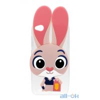 Силіконовий чохол Зверополіс Rabbit Samsung A320 A3 2017