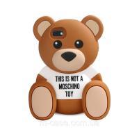 Силіконовий чохол Ведмідь Moschino для Apple iPhone 6