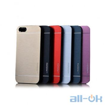 Чохол Motomo пластик для Apple iPhone 5 5S
