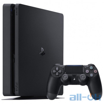 Ігрова приставка Sony PlayStation 4 Slim (PS4 Slim) 1TB Black