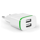 Зарядний пристрій CinkeyPro ЕС Plug 2 White