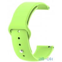 Ремешок для Xiaomi Amazfit Bip Green 20 мм