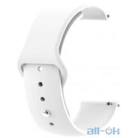 Ремінець для Xiaomi Amazfit Bip White 20 мм