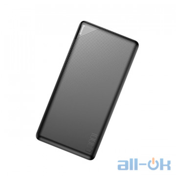 Зовнішній акумулятор (Power Bank) Baseus Mini Cu power bank Dual USB 10000mAh Black (PPALL-KU01)