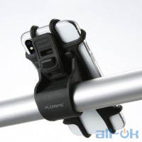 Кріплення для телефону на велосипед / мотоцикл / дитячу коляску / велотренажер FLOVEME Black