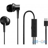 Наушники с микрофоном Xiaomi Mi ANC & Type-C In-Ear Earphones Black (ZBW4382TY)
