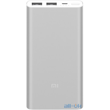Внешний аккумулятор (Power Bank) Xiaomi Mi Power Bank 2S 10000 mAh Silver (VXN4228CN, VXN4231GL) UA UCRF