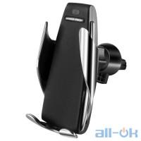 Автомобильный держатель Smart Sensor S5 c беспроводной зарядкой (200452)