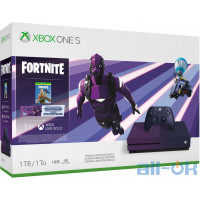 Игровая приставка Microsoft Xbox One S 1TB Fortnite Battle Royale Special Edition Bundle