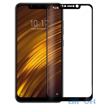Защитное стекло 3D для Xiaomi Pocophone F1 Black
