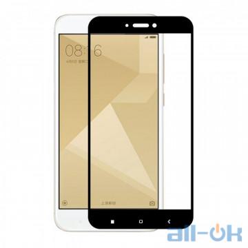 Защитное стекло 3D для Xiaomi Redmi 4x Black