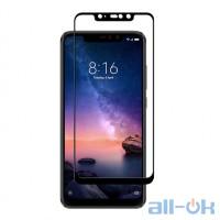 Защитное стекло 5D для Xiaomi Mi 8 Black