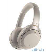 Наушники с микрофоном Sony Noise Cancelling Headphones Silver (WH-1000XM3G)