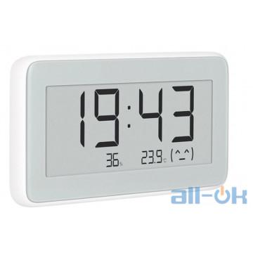 Годинник-термогігрометр MiJia Temperature And Humidity Electronic Watch LYWSD02MMC