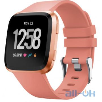 Смарт-часы Fitbit Versa, Peach/Rose Gold Aluminum (FB505RGPK)