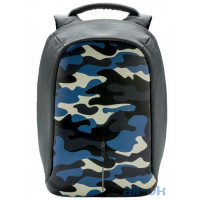 Рюкзак городской XD Design Bobby Compact Anti-Theft Backpack/Camouflage Blue (P705.655)