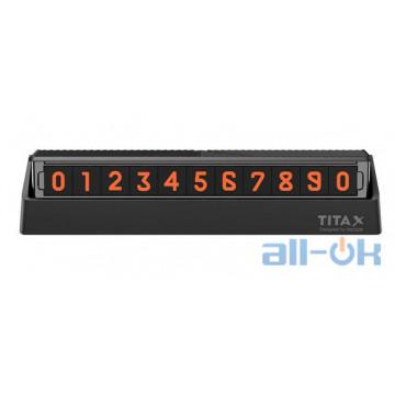 Временная карта парковки (автовизитка) Xiaomi Bcase (TITA X)