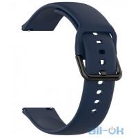 Ремінець для Samsung Galaxy Watch Active R500 20мм Blue